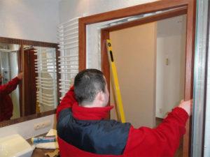 Установка и ремонт дверей и окон в Минске